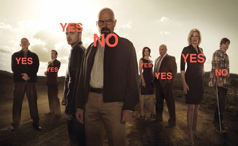 People I Want to Live/People I Want to Die in the Breaking Bad Finale