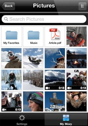 Mozy iPhone App Makes Finding and Opening Your Backed-Up Files Easy