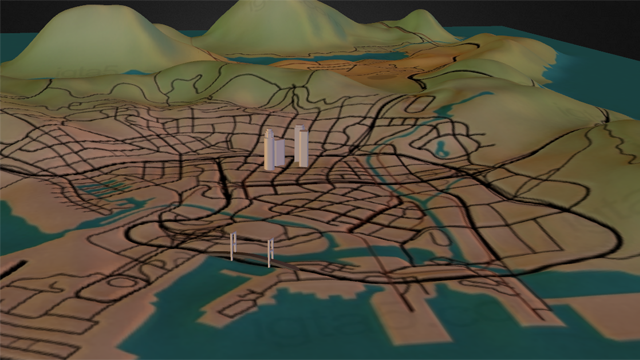 A Ridiculous Fan-Made 3D Grand Theft Auto V Map