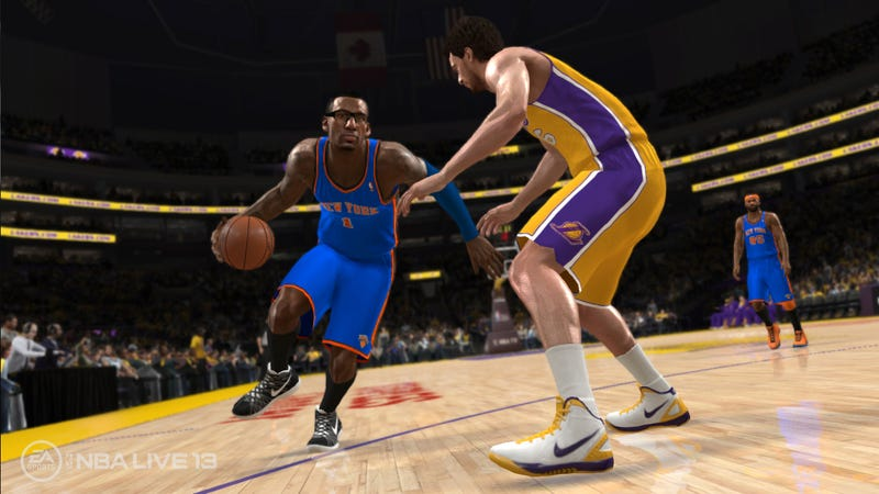Report Says NBA Live 13 Will Be a $20 Digital Download