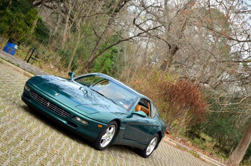 Ferrari 456 driven: cheap V12 thrills