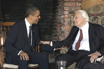 Obama's Date with Billy Graham