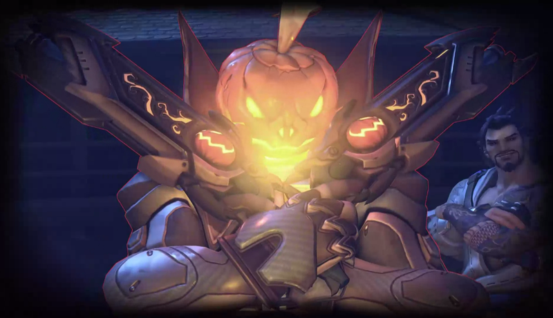 Overwatch Players Are Photobombing The New Halloween Mode