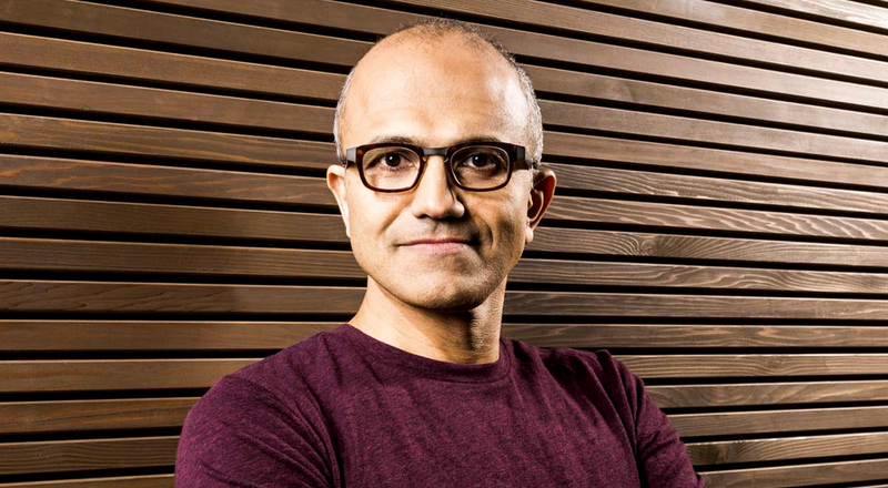 Microsoft's New CEO Is Cloud Guru Satya Nadella