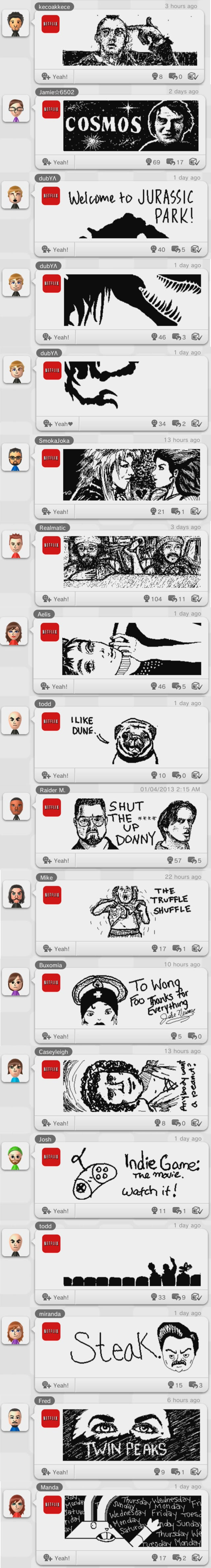 From Carl Sagan to Cheech & Chong: The Netflix Board is The Most Diverse Part of the Miiverse