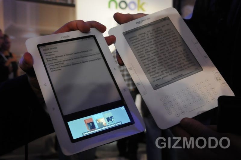 Barnes & Noble Nook Gallery