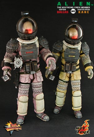'Alien' Figures Have More Details Than Actual Humans