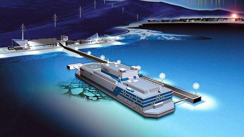 Russia's Surprisingly Sane Plan to Build a Floating Nuclear Power Plant