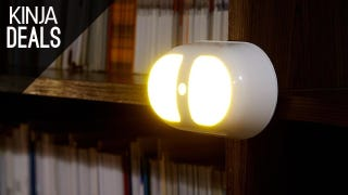 These Cheap Motion-Sensing Night Lights Stick Anywhere You Need Them