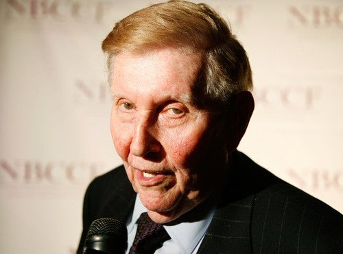 Sumner Redstone Demands Journalist Reveal Source: 'You Will Be Well Protected'