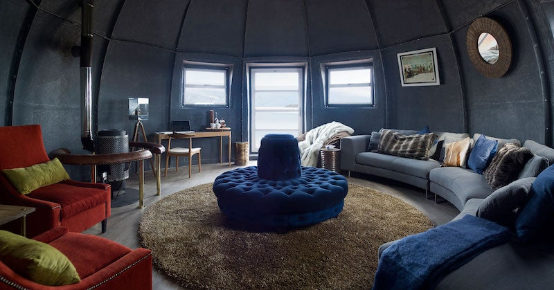 At This Incredible Hotel in Antarctica, You Can Freeze Your Ass Off in Style