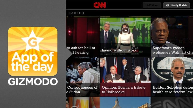 App of the Day: CNN for iPad