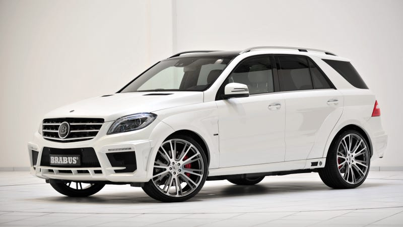 These Are The Newest Insane Mercedes SUVs From Brabus