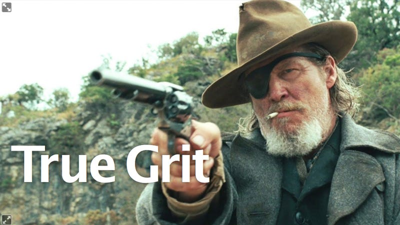 True Grit: The Perfect Post-Valentine's Antidote