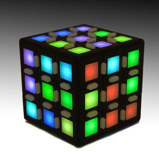 Light-Up Rubik's Cube Tries to Fix Something That Ain't Broke