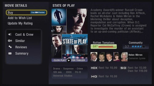 Vudu Streaming Goes Live on LG BD390, With Added (Rotten) Tomatoes