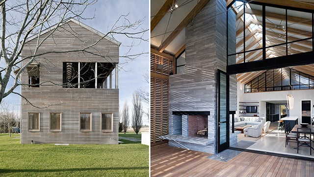 The Light-Filled Louver House Is Not a Barn
