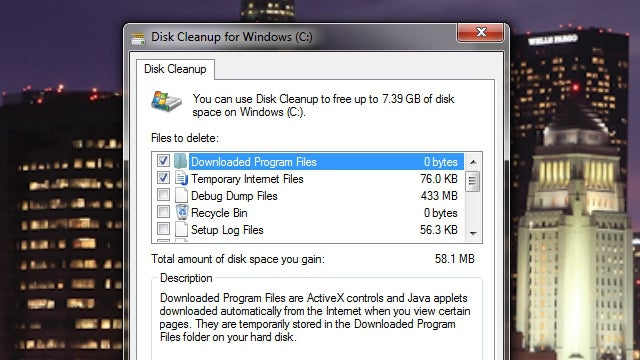 Disk Cleanup, Twitter Gestures, and Email Addresses