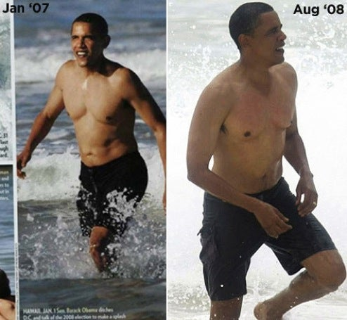 Why Mr. President-Elect, How Fit You Are