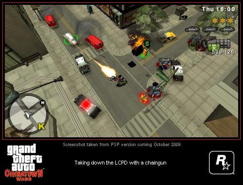 GTA: Chinatown Wars PSP Impressions: Minus The Stylus Strain