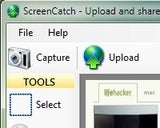 ScreenCatch Captures and Shares Simple Screenshots