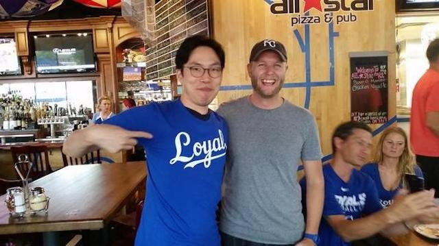 South Korea's Biggest Royals Fan Finally Goes To Kansas City