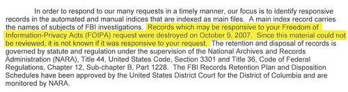 Why Did the FBI Destroy Walter Cronkite's FBI File?