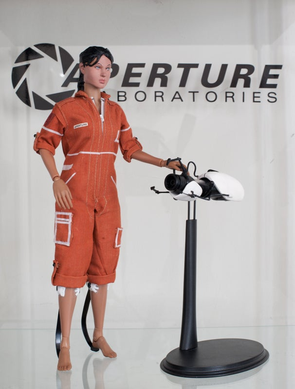 This Portal 2 Action Figure is a Work of Art