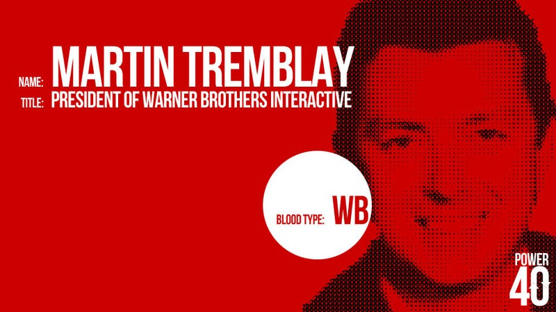 ↓ 33. Martin Tremblay, President of Warner Brothers Interactive Entertainment