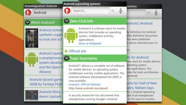 DuckDuckGo for Android is a Web Search App that Focuses on Information, Not Links