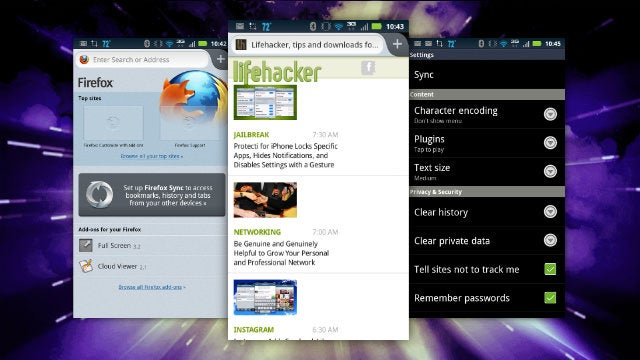 Firefox for Android Updates, Offers Seriously Speedy Browsing and Bookmark Syncing
