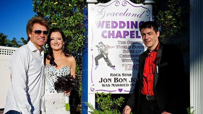Jon Bon Jovi Attended Some Lady's Wedding Because She Begged Him