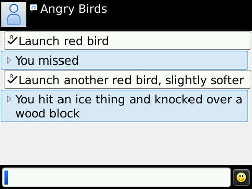 This Is How Angry Birds Would Look On a BlackBerry