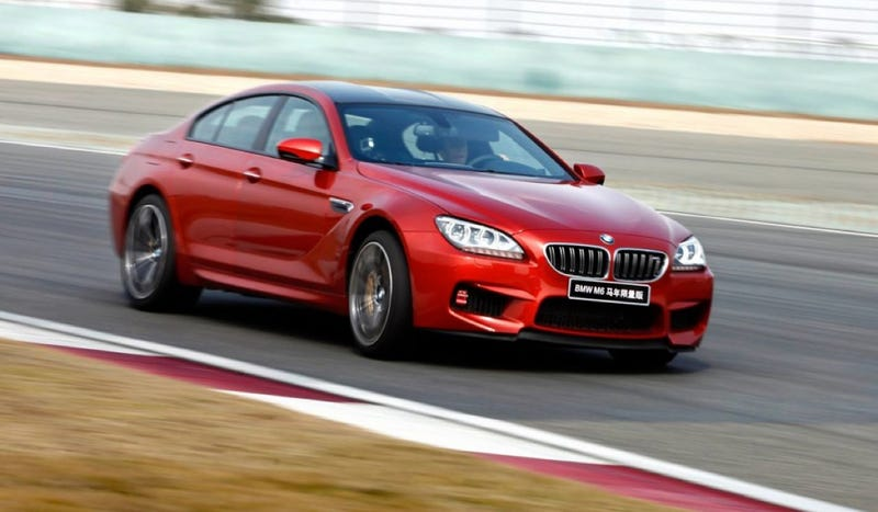 BMW To Sell 'Discreet' $458,000 Year Of The Horse M6 In China