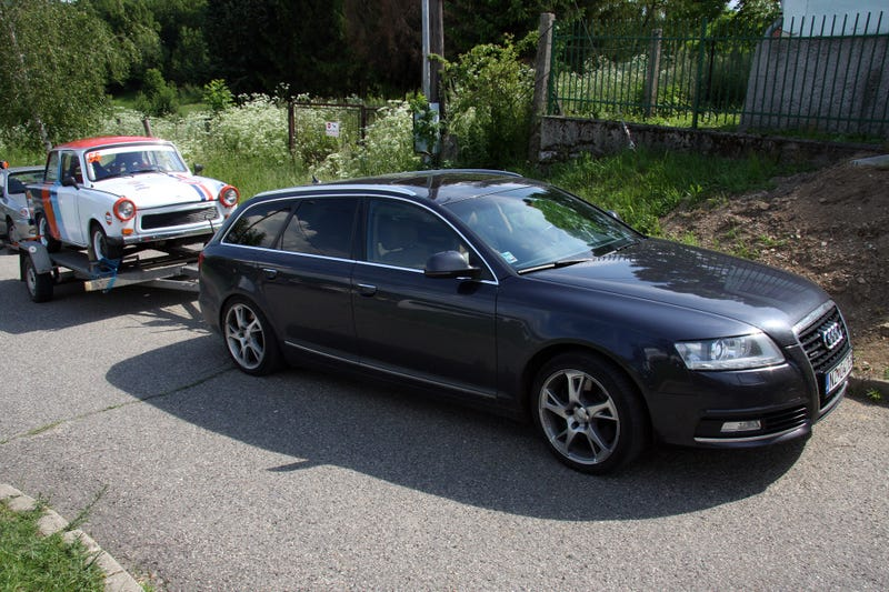 An Audi A6 TDI Wagon And A Gulf Trabant Racer Is All You'll Ever Need