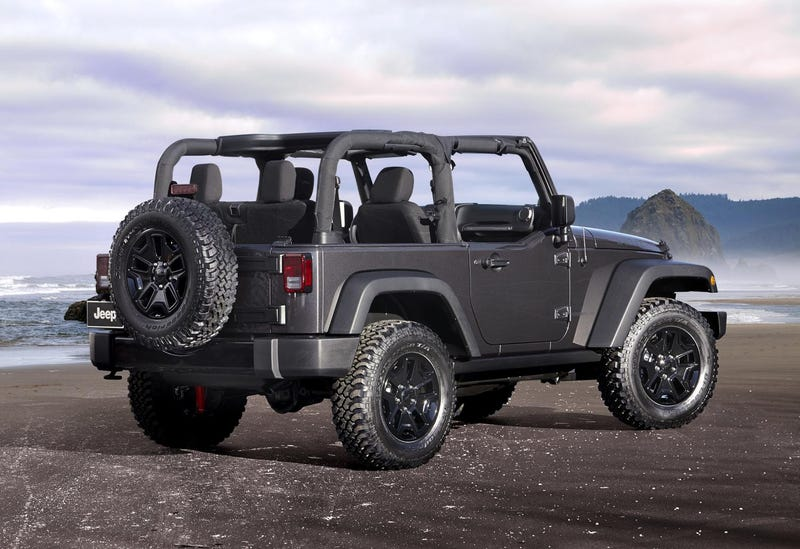 The 2014 Jeep Wrangler Willys Wheeler Edition Is The Purist's Jeep