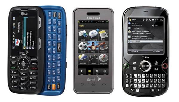 Sprint's Spring Phones: LG Rumor 2, Samsung Instinct Mini, HTC Cedar and Palm Treo Pro