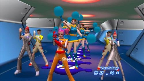 """Here's What Space Channel Looks Like In """"HD"""""""