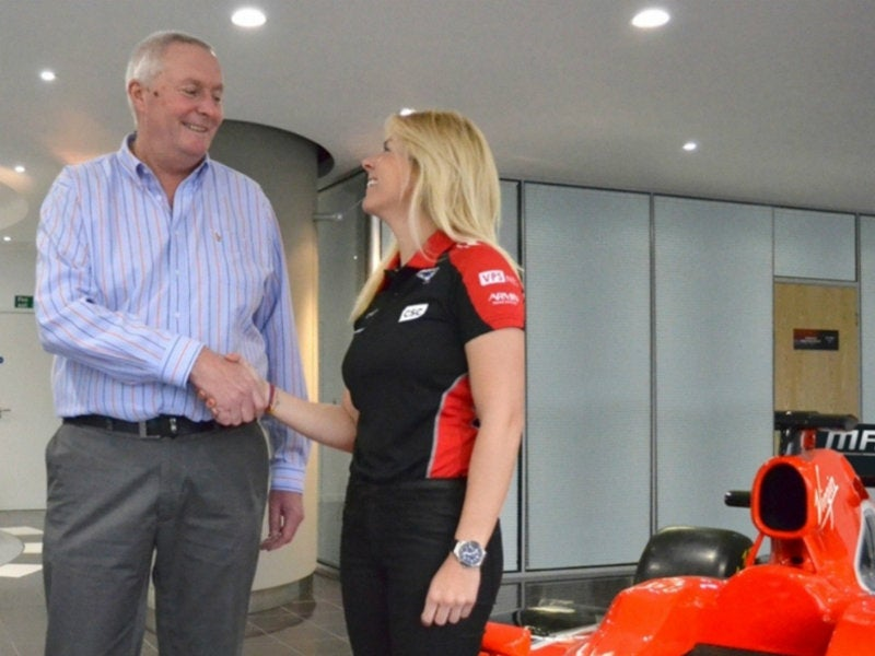 Meet Maria de Villota, Formula One's New Female Test Driver