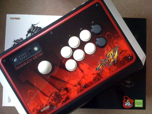 Hands All Over Street Fighter IV Tournament Edition Fight Stick