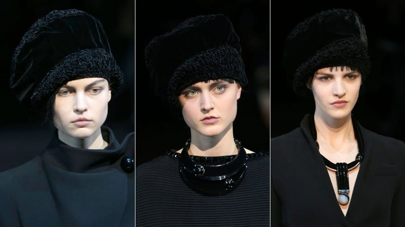 Giorgio Armani, for the Sullen 1930s Tomboy in You