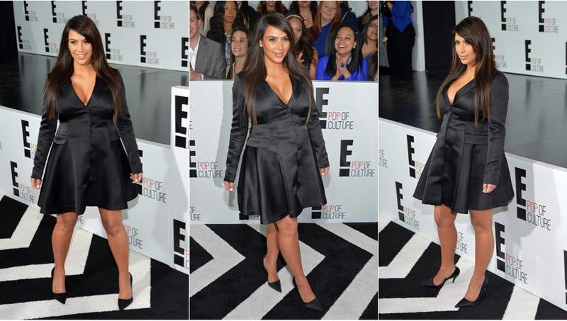 Kim Kardashian Steps Out in The Penguin's Tuxedo Jacket