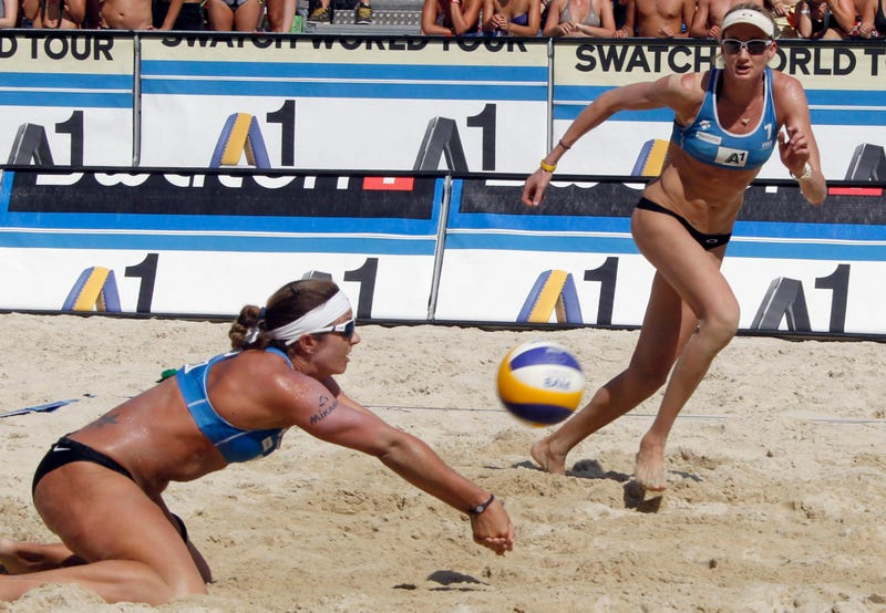 American Beach Volleyball Players Respect The Sanctity Of The Bikini