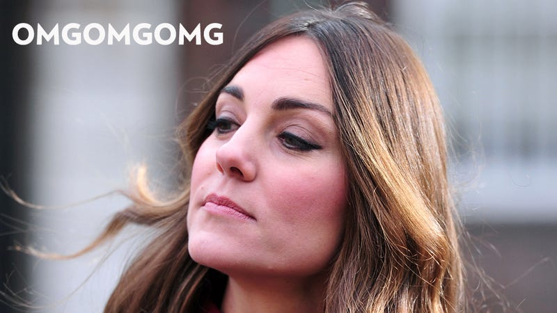 Let's All Freak Out About Kate Middleton's Errant Gray Hair
