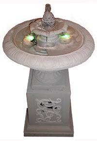 """Backyards Scream """"Classy!"""" With StereoStone Birdbath Fountain Speaker"""