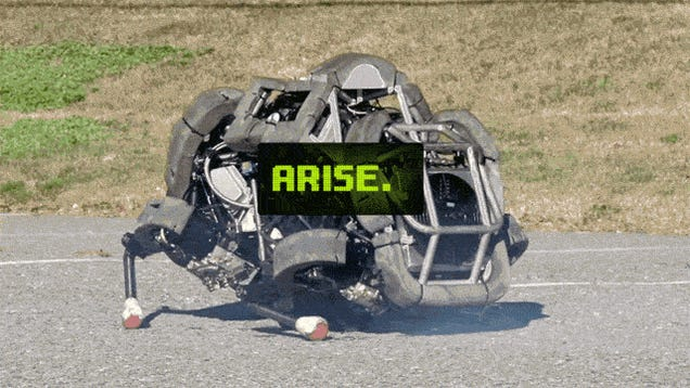 This Free-Running War Robot Is Not Designed to Harm Humans Yet