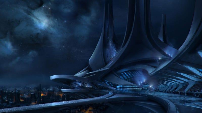 The Beautiful Alien Worlds of Mass Effect
