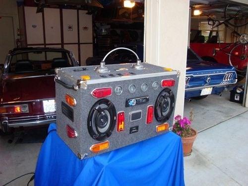 The Catbox Junkyard Boombox