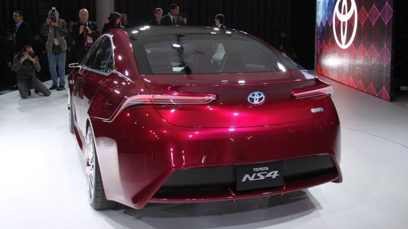Toyota NS4 Concept: 2012 Detroit Auto Show Live Photos