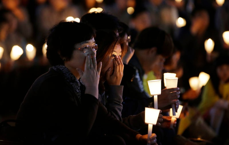 Divers Find 48 Bodies in One Room of Sunken South Korean Ferry